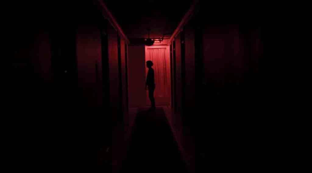 Followed Red Hallway