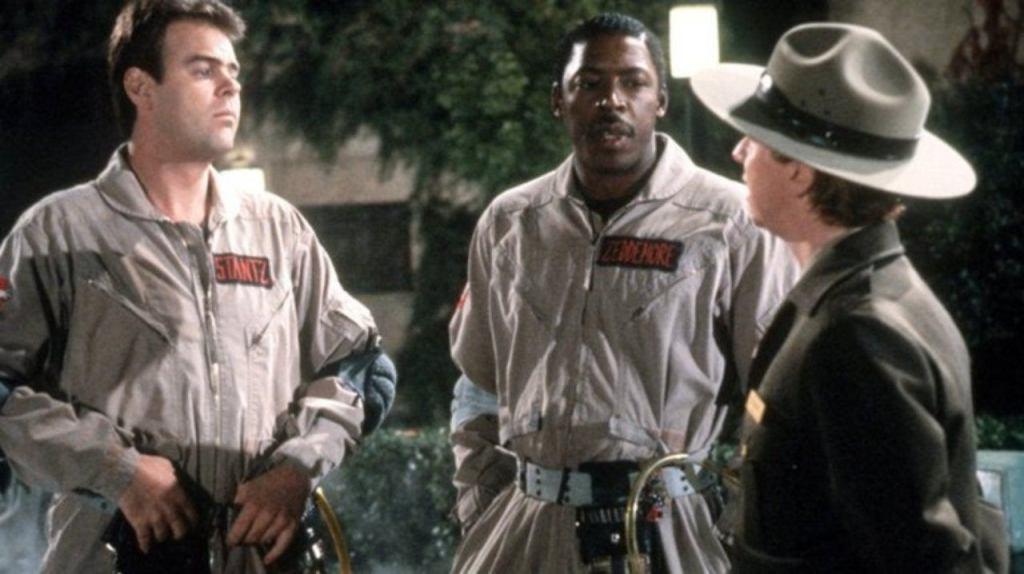Ghostbusters 2 Ernie Hudson Dan Aykroyd