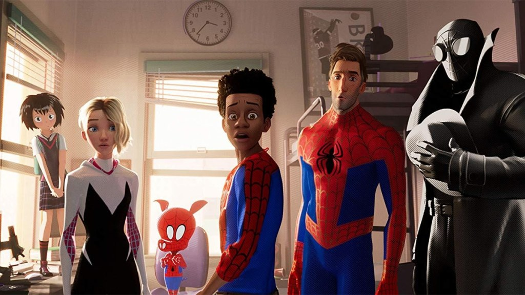 into the spider-verse sequel Miles Morales and co.