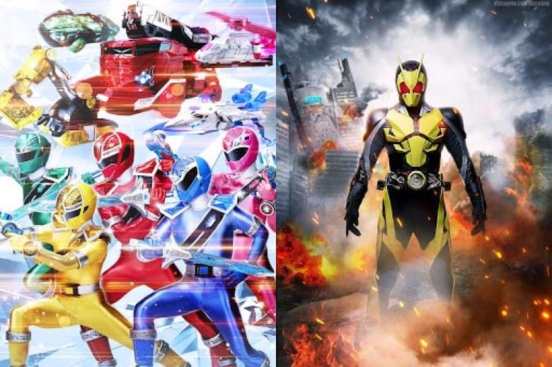 super sentai and kamen rider return