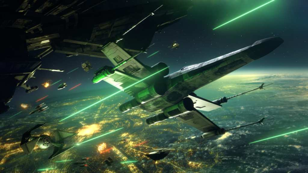 Star Wars Squadrons X-Wing Battle