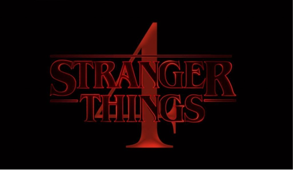 Stranger Things season 4 title card