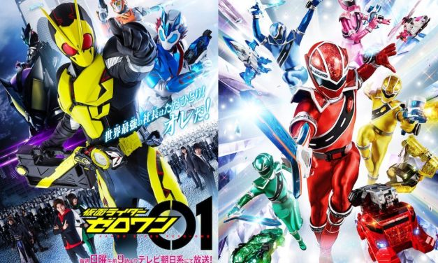 Super Sentai and Kamen Rider To Resume Filming Today