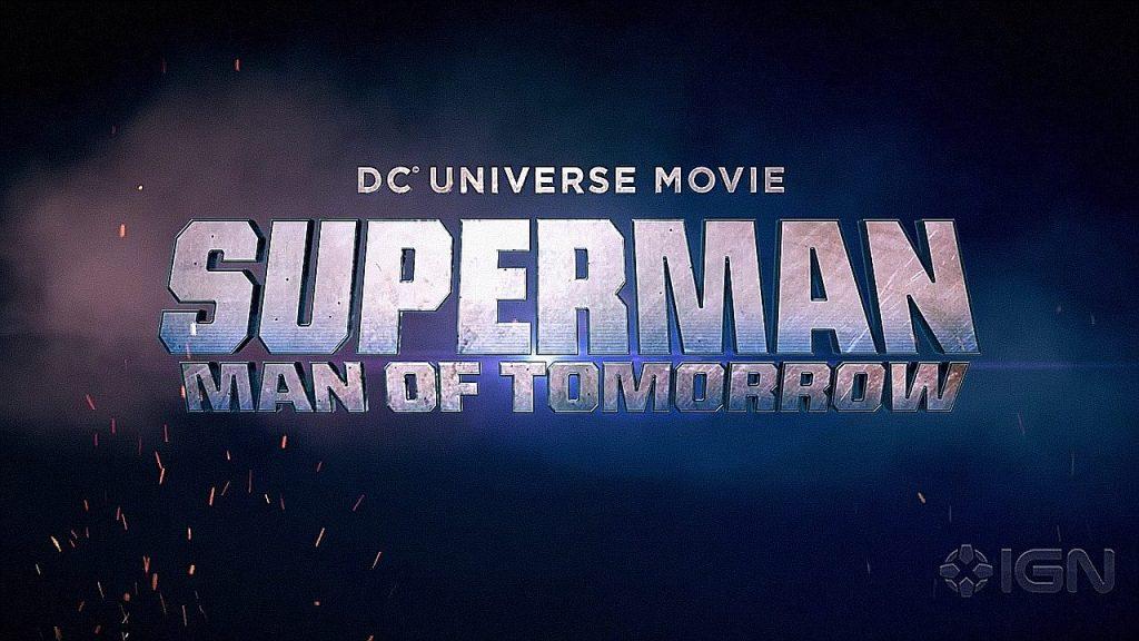 Superman: Man of Tomorrow Title