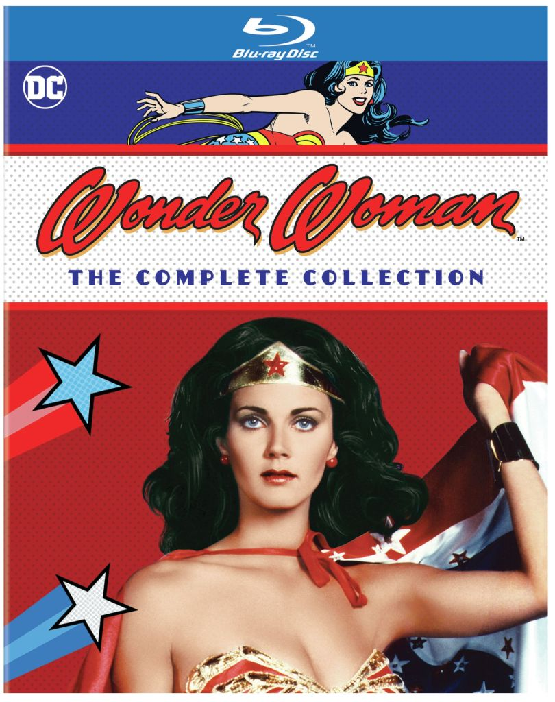 Wonder Woman; The Complete Collection Blu-Ray