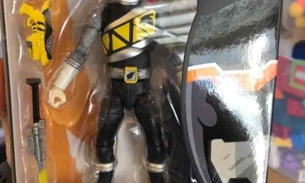 Lightning Collection Dino Charge Black Ranger Figure Found at Target