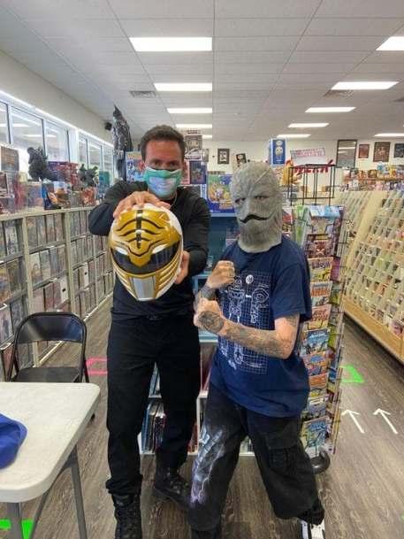 Jason David Frank Comic Shop