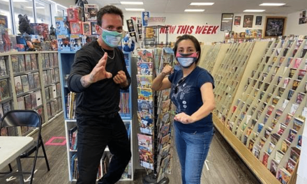 Power Rangers Star Jason David Frank Visits Comic Shops In An Effort To Help Keep The Doors Open