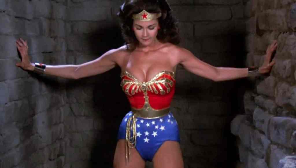Wonder Woman Lynda Carter in Action
