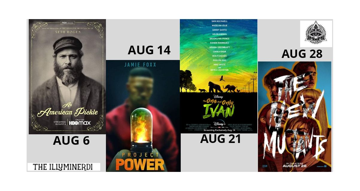 New August Movies In 2020 You Don't Want To Miss