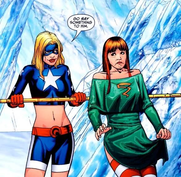 Stargirl and Cyclone DC Comics