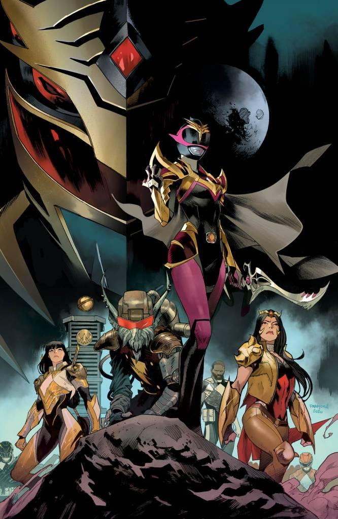 Power Rangers: Drakkon New Dawn #1 Cover Variant