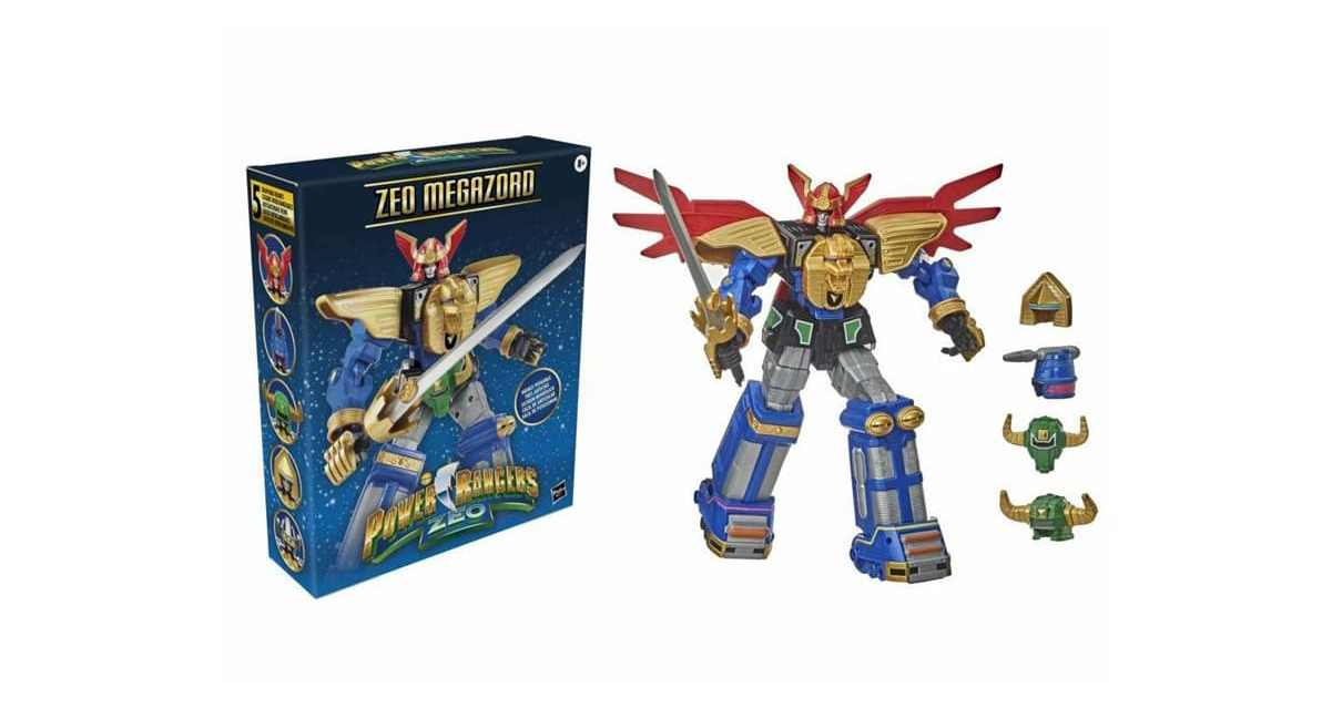 LISTINGS Found FOR HASBRO'S Dynamic ZEO MEGAZORD 12″ FIGURE