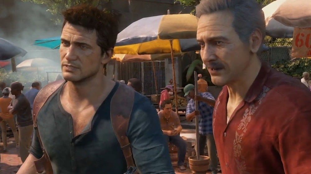 Uncharted Nathan Drake and Sully