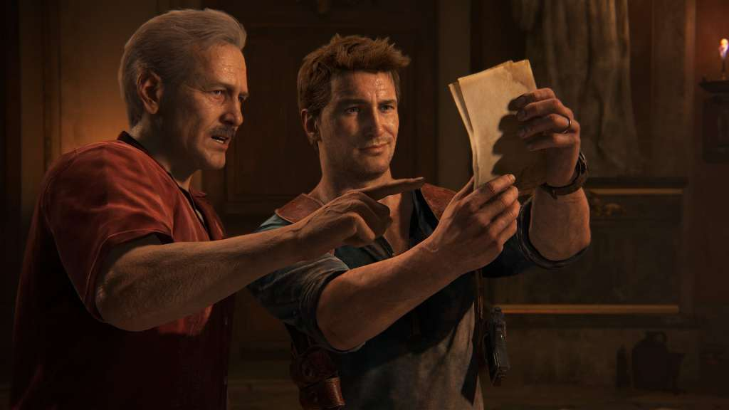 Uncharted Sully and Nathan Drake