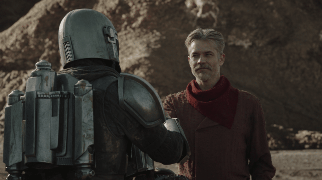 Cobb Vanth Timothy Olyphant The Mandalorian