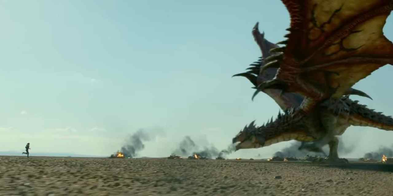 The 1st Official Monster Hunter Trailer Brings The Heat