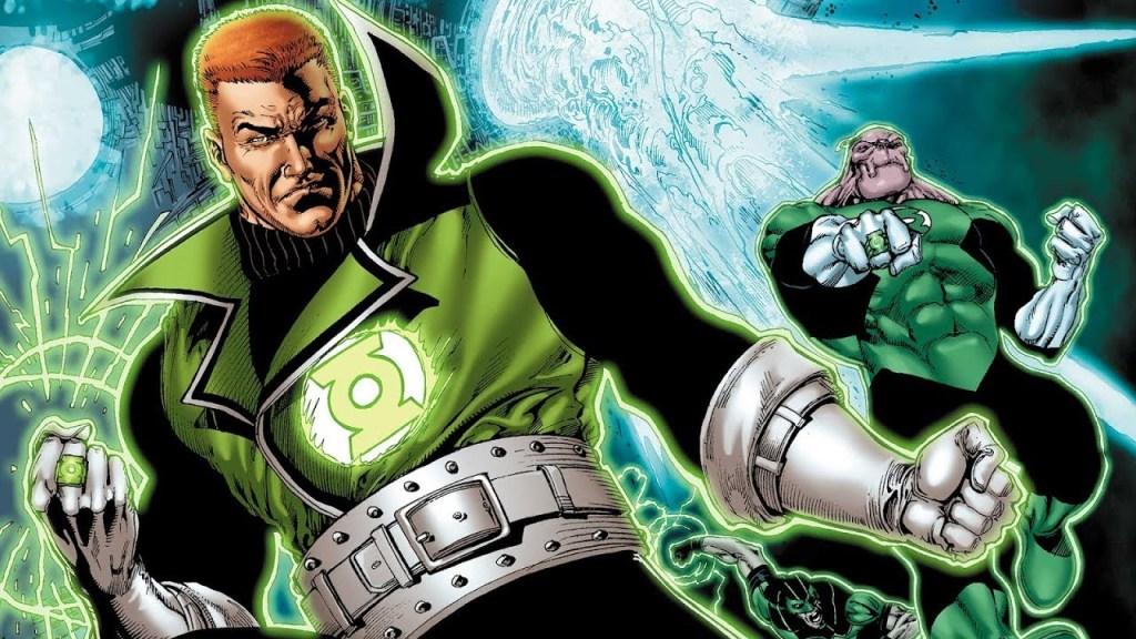 green lantern Guy Gardner Kilowag