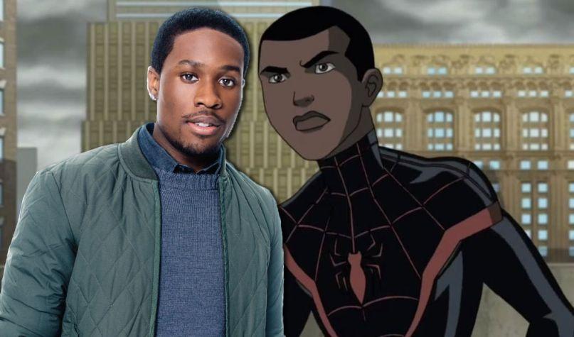 Shameik Moore Miles Morales Spider-Man Animated