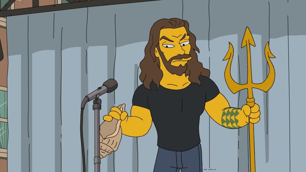 the simpsons season 31 jason momoa