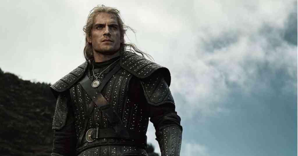 henry cavill in witcher
