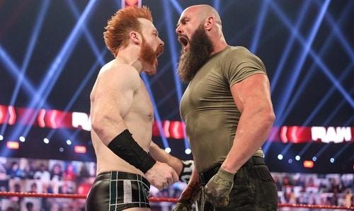 WWE Sheamus vs Braun Strowman
