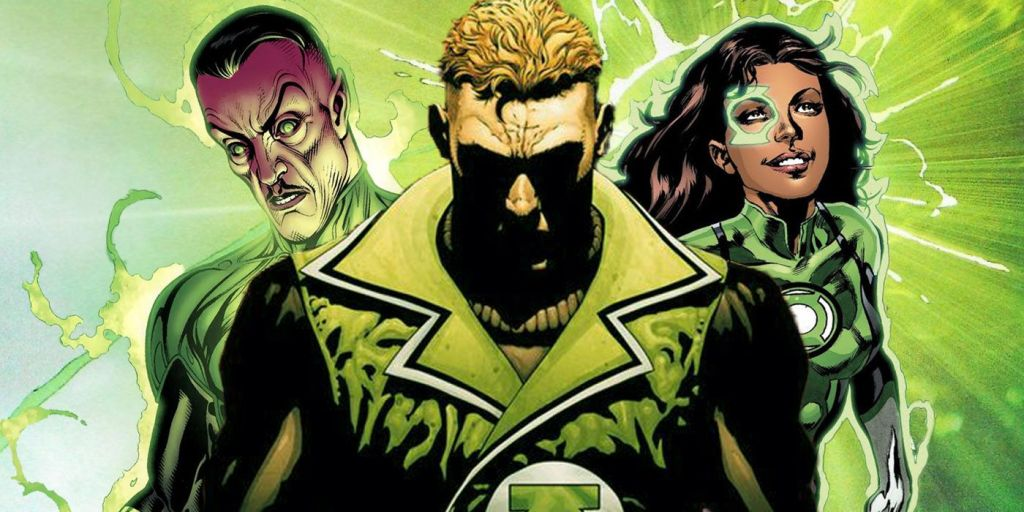 Green Lantern Corps Guy Garder Jessica Cruz Sinestro