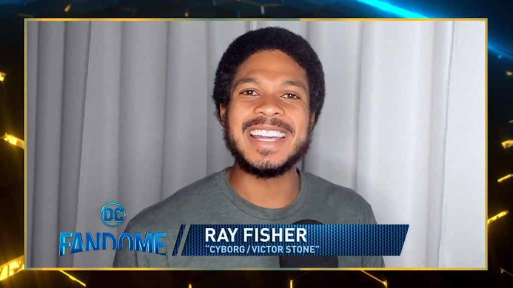 Justice League Ray Fisher Cyborg DC Fandome