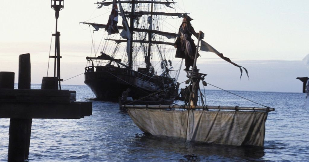 Pirates of the Caribbean opening