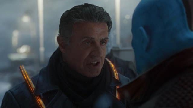 sylvester stallone - guardians of the galaxy