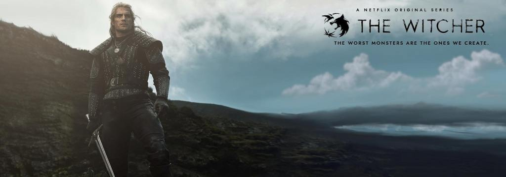 The Witcher promo banner