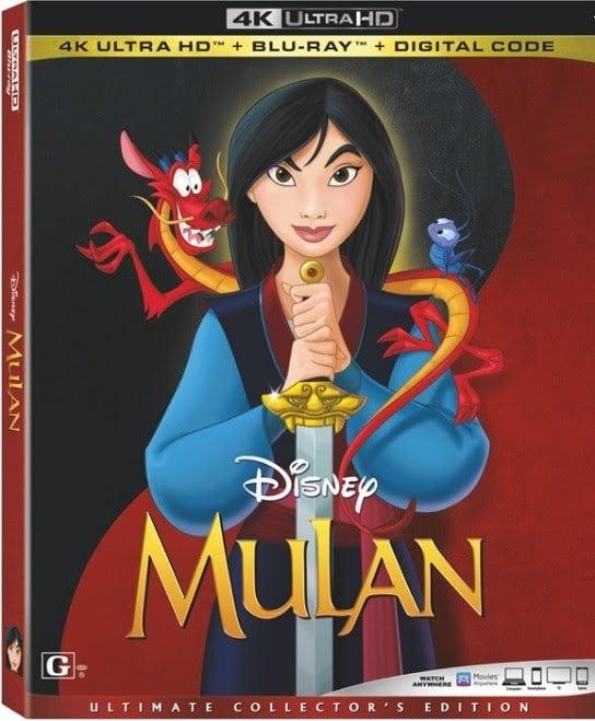 Mulan Animated 4k