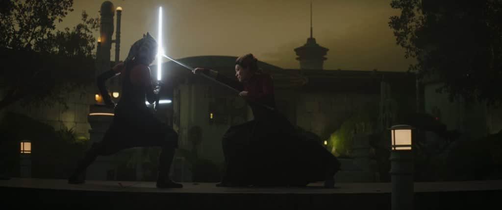 The Mandalorian Ahsoka Samurai Duel