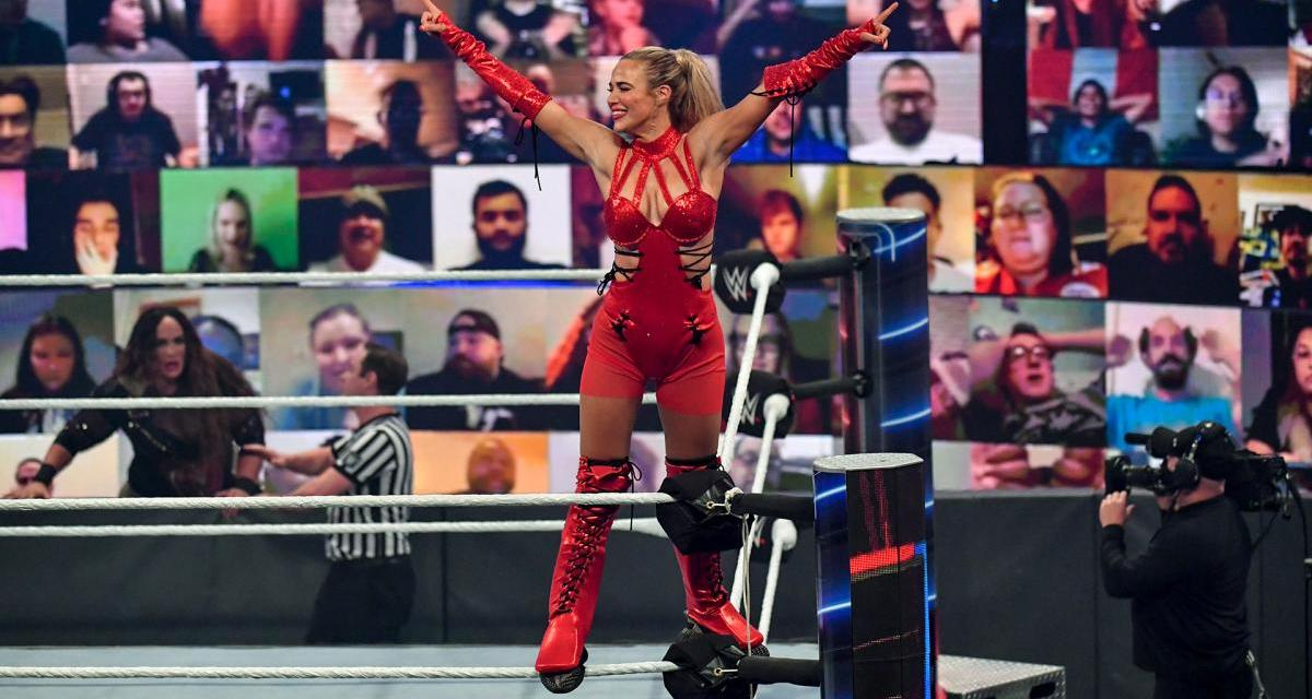 Is Lana Being Punished Because Of Her Husband's Move To AEW?