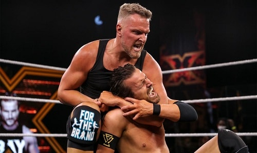 WWE Pat McAfee and Adam Cole