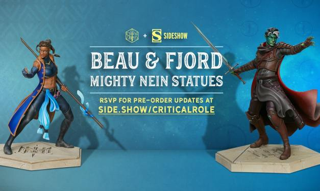 Critical Role Partners With Sideshow Collectibles And Reveals New Mighty Nein Art And Statues