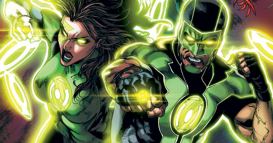 Green Lantern Simon Baz Jessica Cruz