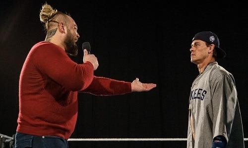 WWE Bray Wyatt and John Cena