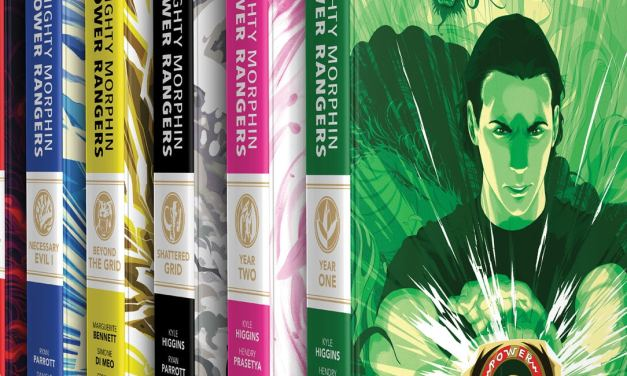 Boom! Studios Announce New Mighty Morphin Power Rangers Comic Collection Set