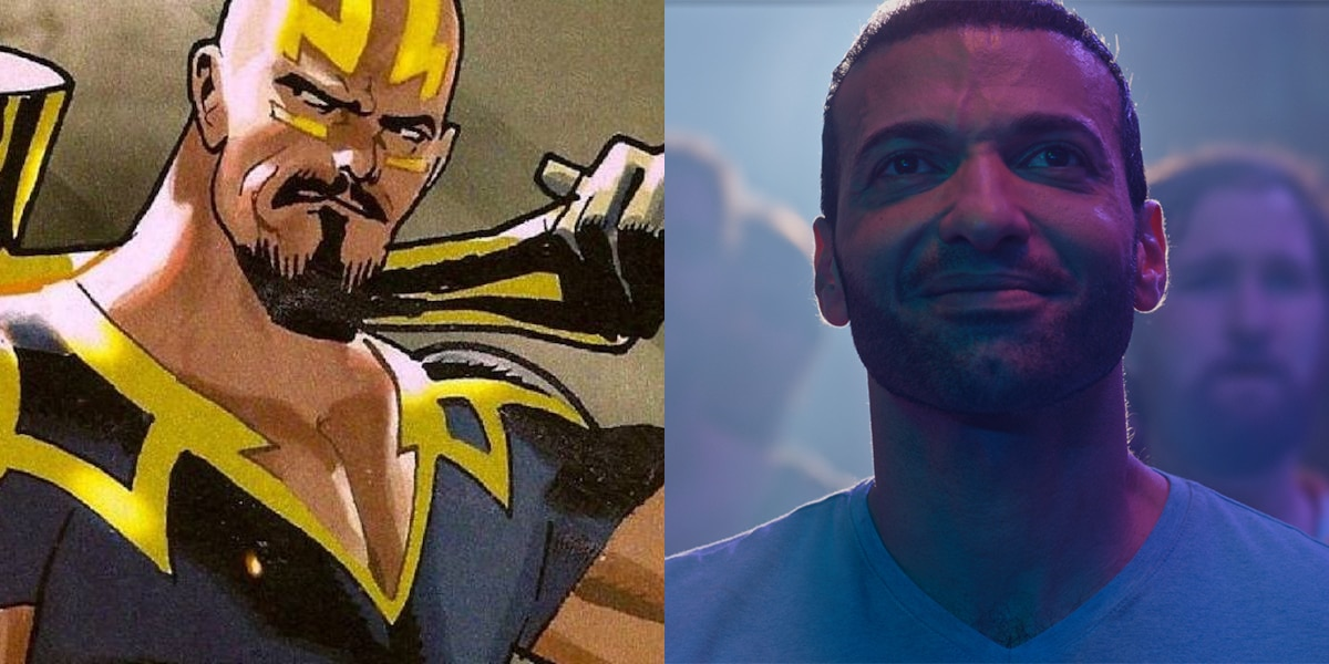 Eternals Actor Haaz Sleiman Gushes About Playing Phastos Husband & Being Part of MCU's 1st Gay Couple