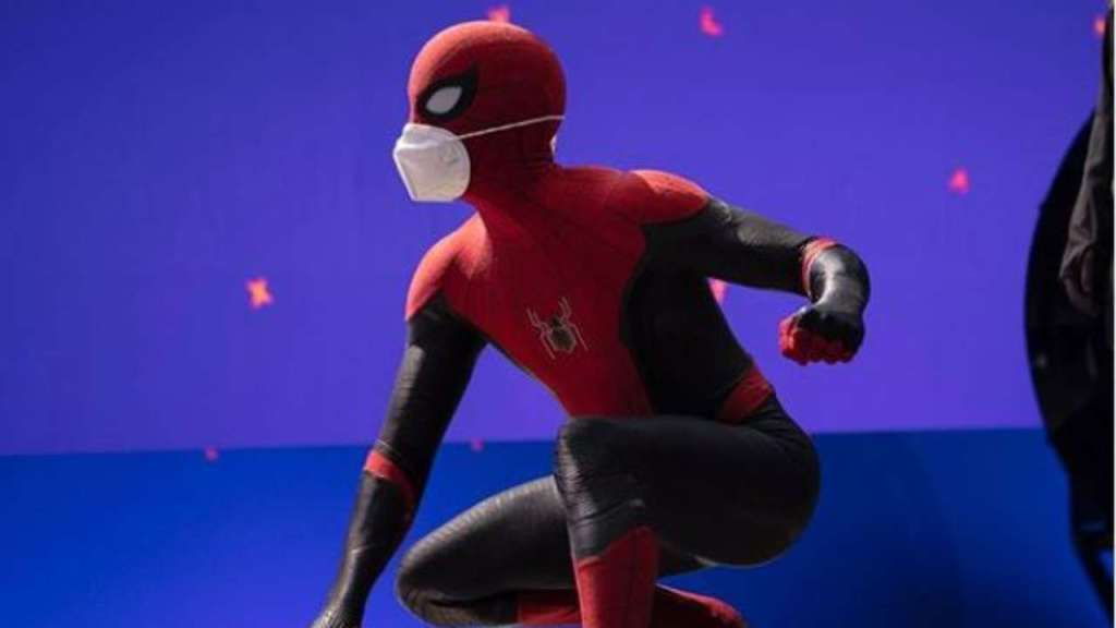 spider man 3 set Tom Holland