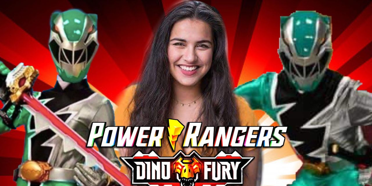 Dino Fury's Tessa Rao Shares Her Amazement At Being The 1st Female Green Ranger On Power Rangers