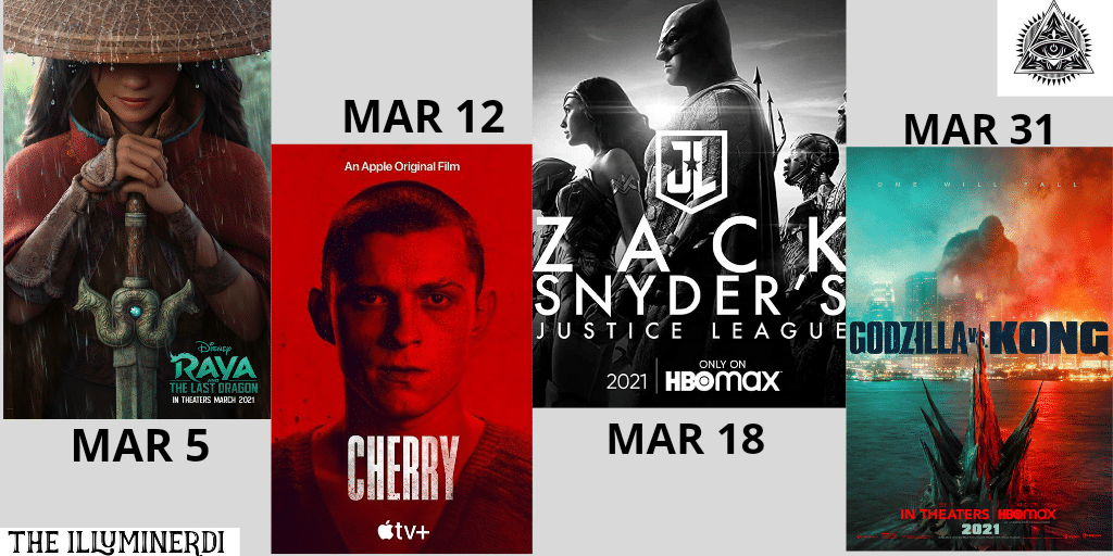 New March Movies In 2021 You Don't Want To Miss