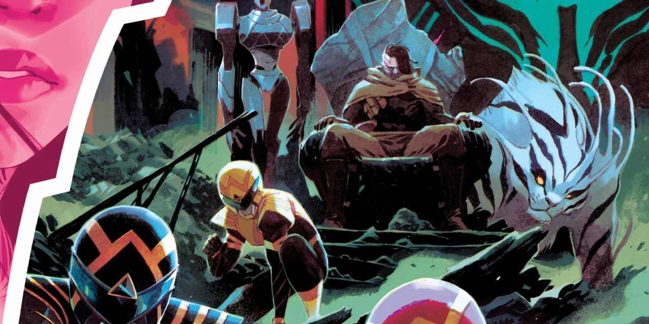 Power Rangers Issue #4 Preview