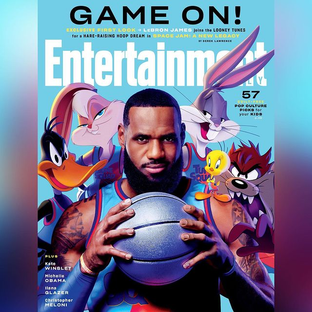 entertainment weekly space jam
