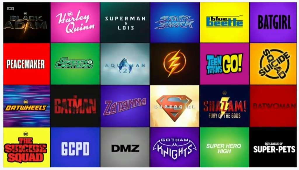 DC Films lineup logo Zatanna