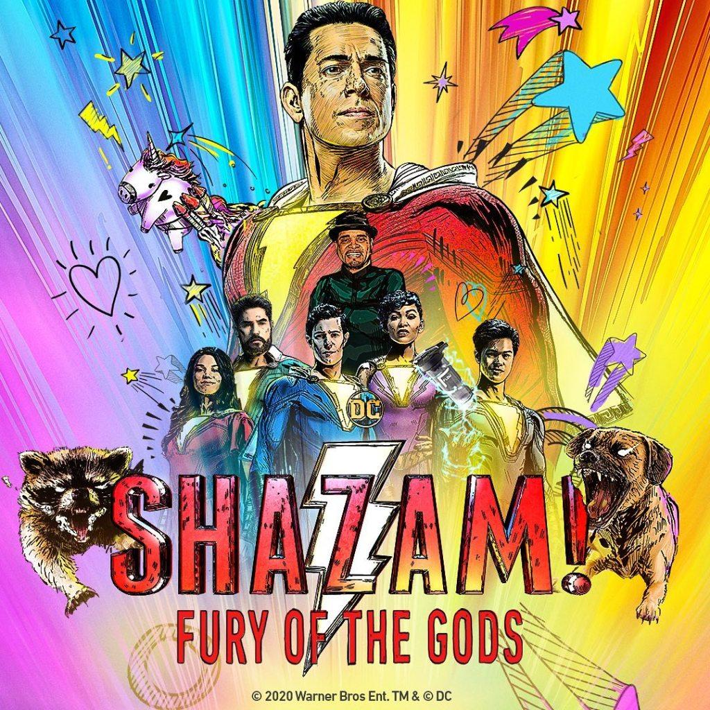 Shazam_Fury_of_the_Gods lucy liu Rachel Zegler