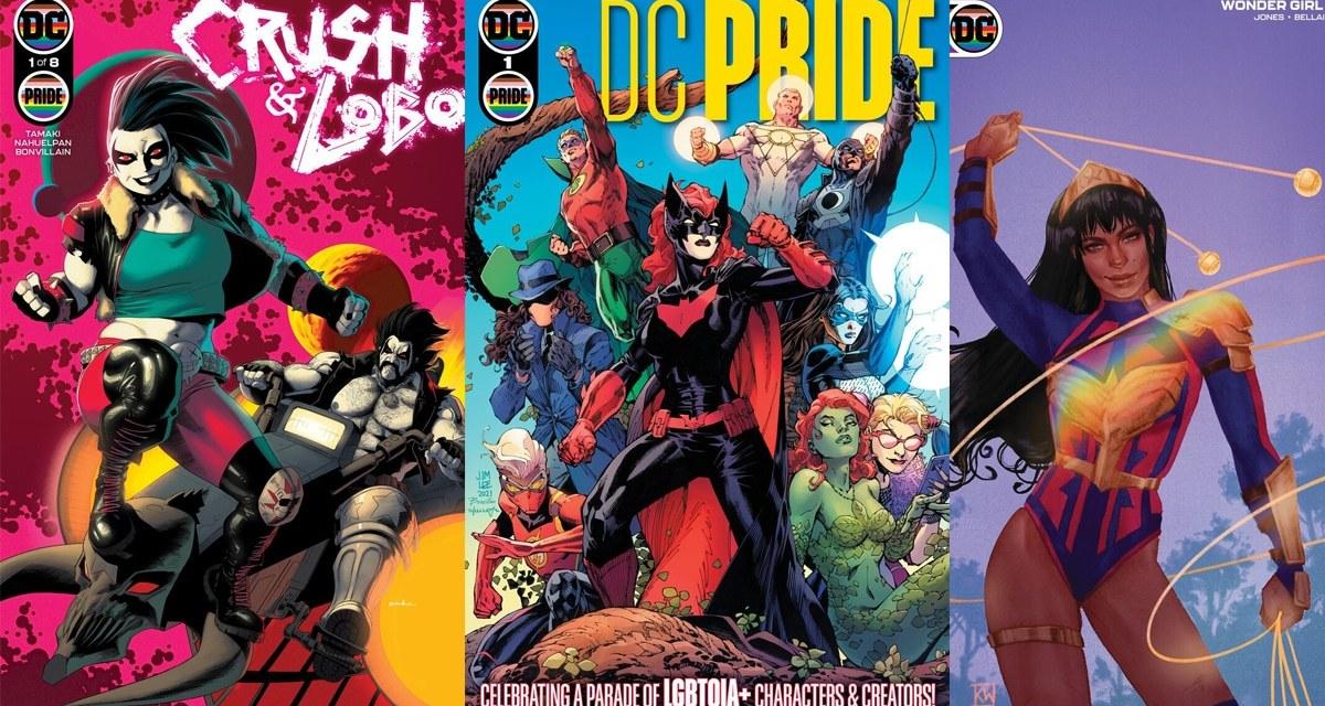 DC Proudly Announces 'DC Pride' Anthology Comic & More