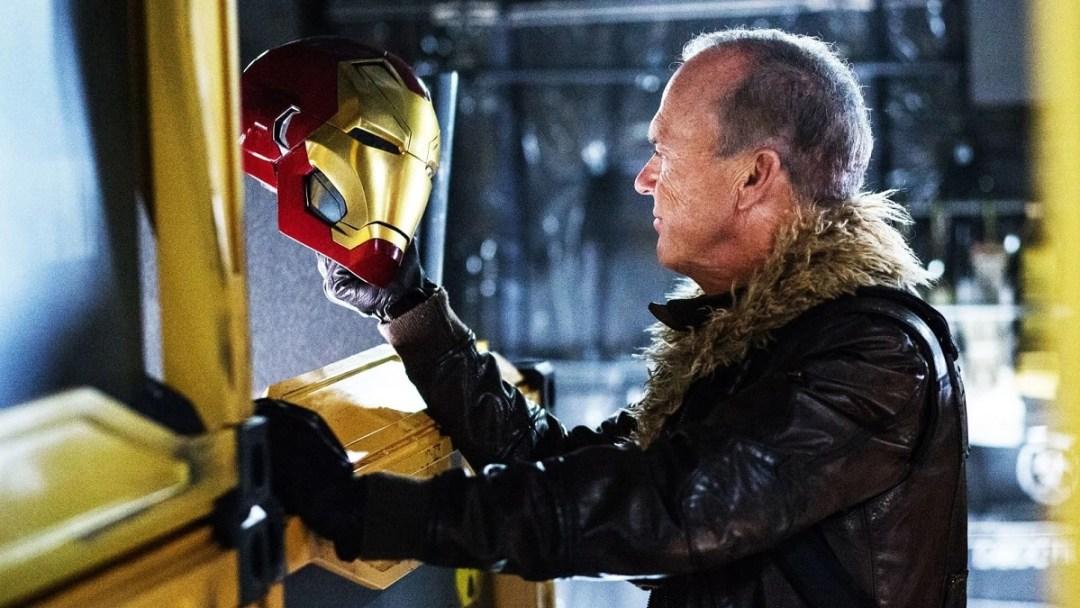 Michael Keaton Batman Spider-Man Homecoming VultureThe Flash