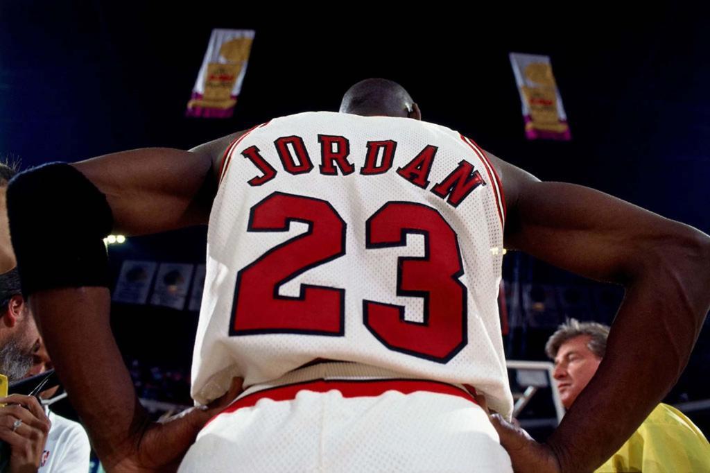 Moment of Truth Michael Jordan